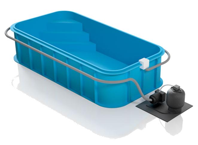 BDD.com.ua полипропиленовый бассейн на заказ