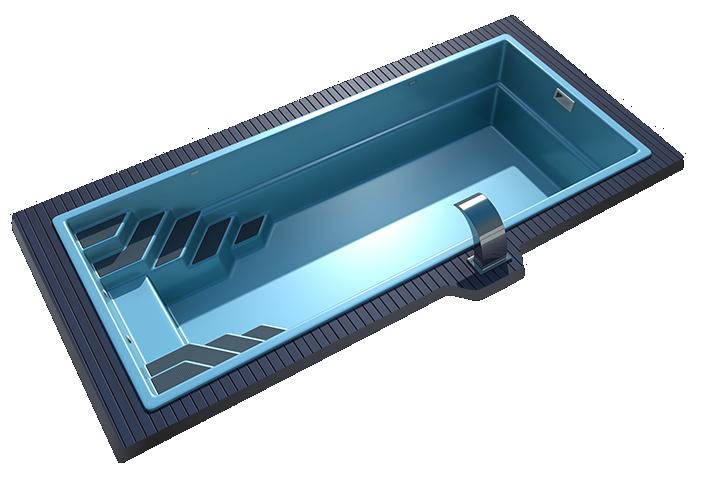 Композитный бассейн Sol 8